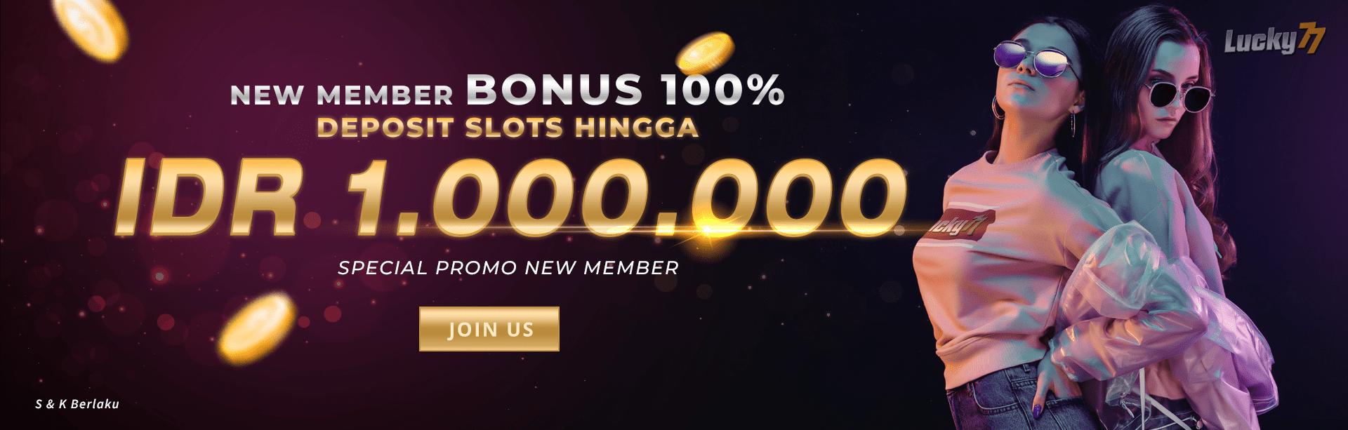 Bonus Member Baru Slots!