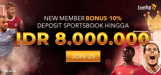 Bonus Member Baru Sportsbook!